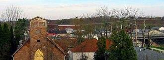 Corbin, Kentucky - Corbin, Kentucky skyline, 2006