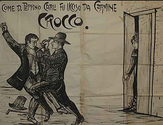 Carmine Crocco - Crocco killing Don Peppino who insulted his sister