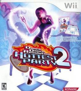 <i>Dance Dance Revolution Hottest Party 2</i> video game