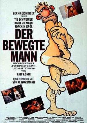 Der bewegte Mann - German film poster