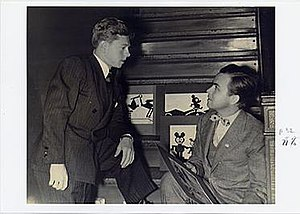Douglas Leigh - Douglas Leigh with Mickey Rooney