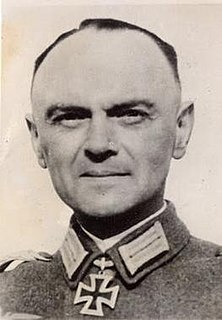 Franz Beyer (general) German General and Knights Cross recipient