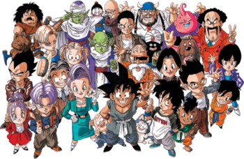List Of Dragon Ball Characters Wikipedia