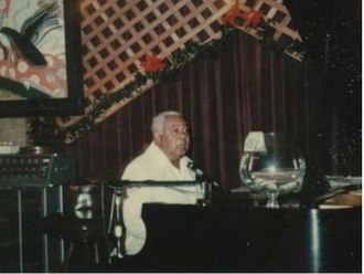 Dudley Brooks - Dudley Brooks working in a Los Angeles piano bar circa 1985