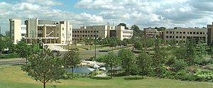 Farnborough, Hampshire - Part of Farnborough Aerospace Centre.