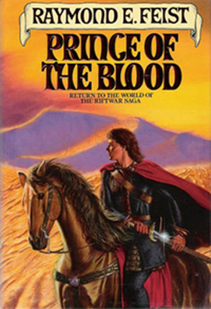 Prince of the Blood (novel) - Image: Feist Prince of the Blood Coverart