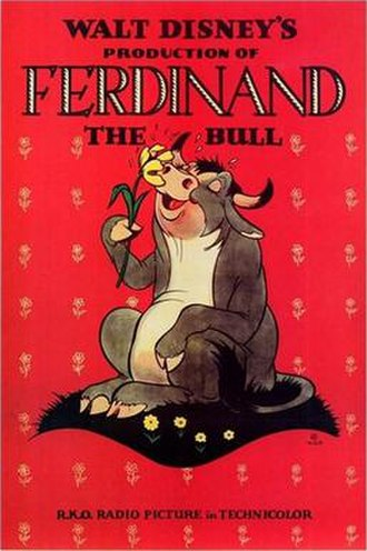Ferdinand the Bull (film) - Theatrical release poster