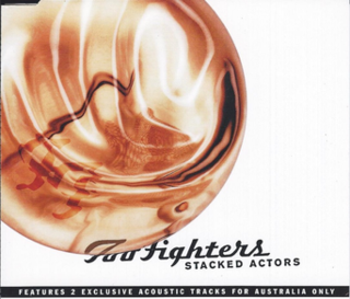 Stacked Actors 2000 single by Foo Fighters