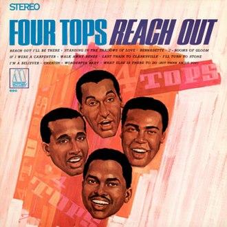 Reach Out (Four Tops album) - Image: Fourtops reachout album