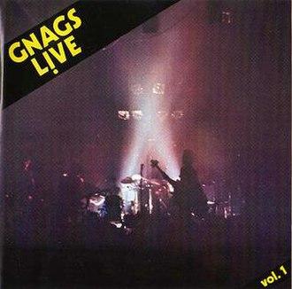 Live Vol. 1 (Gnags album) - Image: GNAGS Live Vol 1