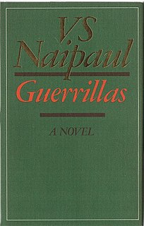 <i>Guerrillas</i> (novel) book by V. S. Naipaul