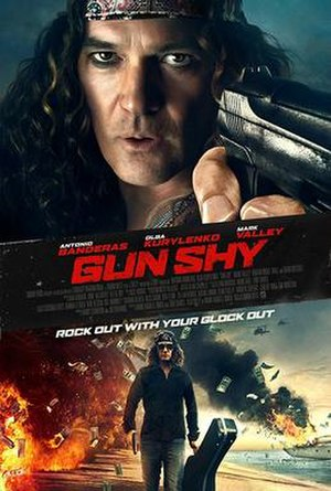 Gun Shy (2017 film) - Theatrical release poster