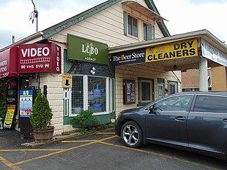 Liquor Control Board of Ontario - A LCBO Agency store in Carlisle