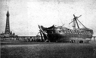 HMS Foudroyant (1798) - The wreck of HMS Foudroyant