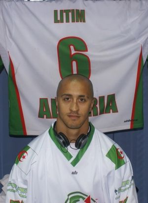 Ice hockey in Africa - Harond Litim, Algeria