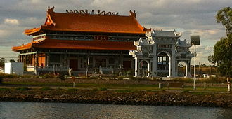 City of Maribyrnong - The Heavenly Queen Temple, Australia's largest Chinese temple, opened in Footscray in 2015.