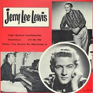 Jerry Lee Lewis (album) - Image: High School Confidential 1958