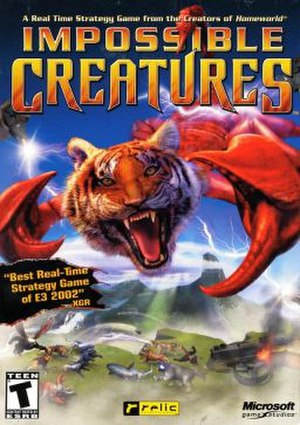 Impossible Creatures - Cover art