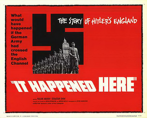 It Happened Here - 1966 UK cinema poster