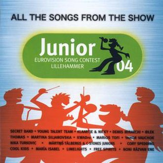 Junior Eurovision Song Contest 2004 - Image: JESC 2004 album cover