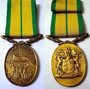 Jack Hindon Medal - Image: Jack Hindon Medal