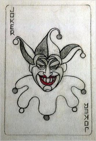 Joker (character) - Image: Jerry Robinson Joker Sketch Card