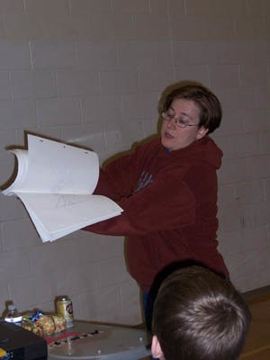 Jett Atwood - Jett Atwood at Woods Cross High School, March 2007