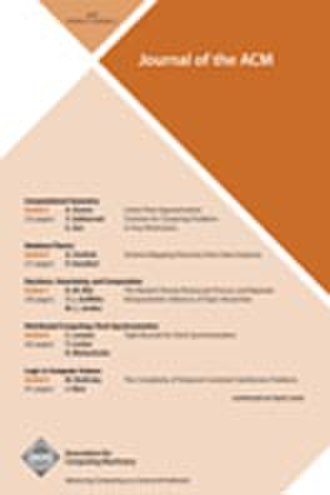 Journal of the ACM - Image: Journal of the ACM 2010 cover
