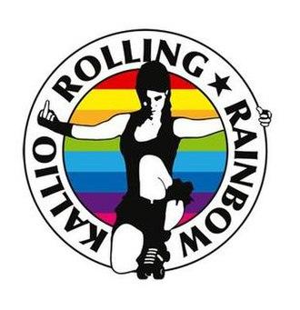 Kallio Rolling Rainbow - Image: Kallio Rolling Rainbow Logo