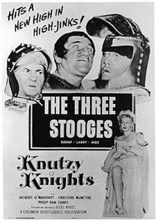 <i>Knutzy Knights</i> 1954 film by Jules White