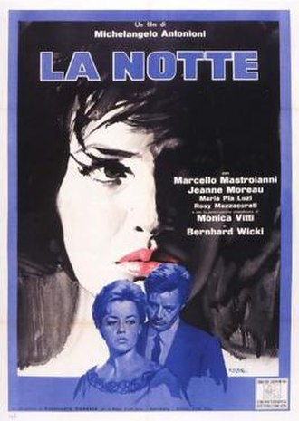 La Notte - Italian theatrical release poster