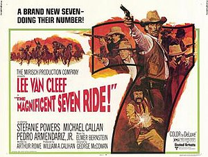 The Magnificent Seven Ride - Theatrical release poster