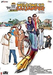 Welcome to Sajjanpur (2008) SL YT - Shreyas Talpade, Amrita Rao, Kunal Kapoor, Ravi Kishan, Ravi Jhankal