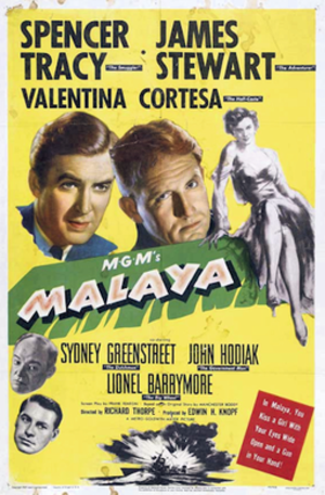 Malaya (film) - Theatrical release poster