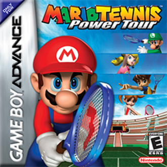 Mario Tennis: Power Tour - North American box art