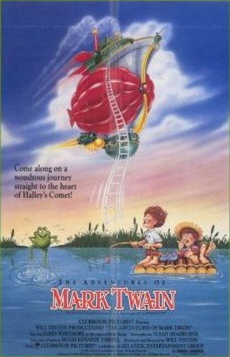 The Adventures of Mark Twain (1985 film) - Theatrical poster