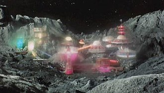 Mysteron - Mysteron colony on Mars, as seen in the original series