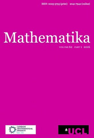 Mathematika - Image: Mathematika cover