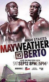 Floyd Mayweather Jr. vs. Andre Berto - Wikipedia