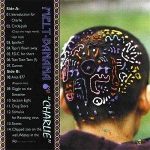 Charlie (album) - Image: Melt Banana Charlie Cover