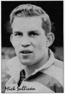 Mick Sullivan GB & England international rugby league footballer and coach