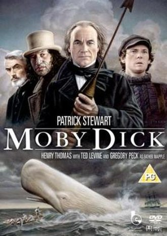 Moby Dick (1998 miniseries) - DVD cover