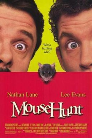 MouseHunt (film) - Theatrical release poster