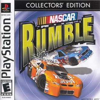 NASCAR Rumble - Image: NASCAR Rumble Cover