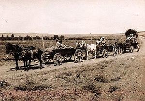 September 11, 1921 – The first settlers arrive...