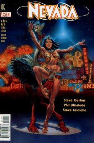 Nevada (comics) - Cover of the first issue