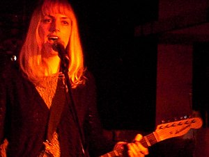 Sally Seltmann - Seltmann as New Buffalo, live in Melbourne, 2004