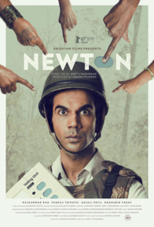 Newton (film) - Theatrical release poster