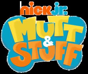 Mutt & Stuff - Image: Nick Jr. Mutt & Stuff Logo Original