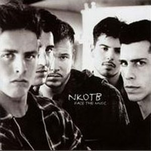 Face the Music (New Kids on the Block album) - Image: Nkotb face the music cover